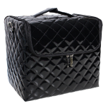 Camellia Diamond Check Beauty Case