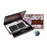 Mooilash Camellia / C CURL / BLACK + PURPLE