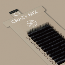 CRAZY MIX BLACK / D CURL